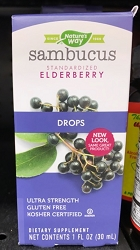 Elderberry Drops