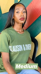 Green Slauson and Overhill T-Shirt - Medium