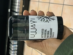 Ujjayi Natural Charcoal Deodorant - Tobacco
