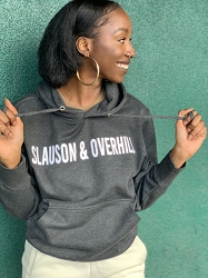New Slauson and Overhill Grey Hoodie - Small