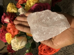 Rose Quartz - Large Single Piece