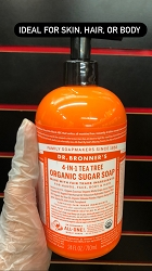 Lemongrass Lime Sugar Soap- Dr. Bronner