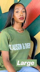 Green Slauson and Overhill T-Shirt - Large