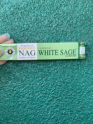 Golden White Sage Incense