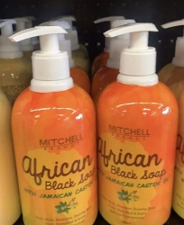 African Black Soap with Jamaican Castor Oil