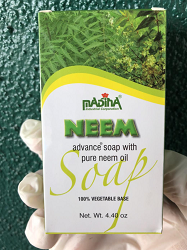 All Natural Neem Bar Soap - Original