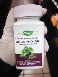Oregano Oil Vegan Capsules