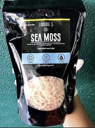Raw Irish Moss - 16 OZ.