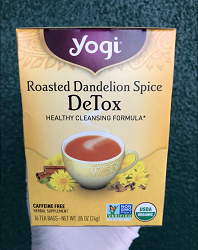 Yogi Roasted Dandelion Detox Tea