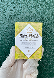 Indian Hemp Haitian Vetiver Bar Soap