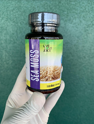 Sea Moss Capsules - Live, Love Juice Brand