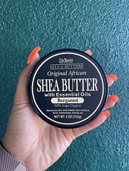 Shea Butter with Essential Oils - Bergamont