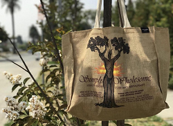 Simply Wholesome Tote Bag