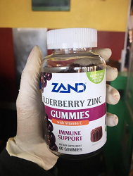 Zand Elderberry Zinc Gummies